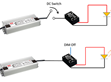 Start Up Issue on LED modules with DC-to-DC Converter